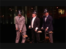 Raiders Stadium Groundbreaking #1