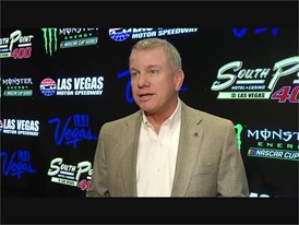 Chris Powell Soundbite on NASCAR South Point sponsorship announcement