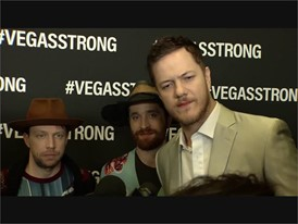Vegas Strong Concert Red Carpet Imagine Dragons Soundbite