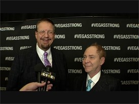 Vegas Strong Concert Red Carpet Penn & Teller Soundbite