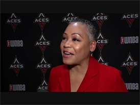 WNBA Press Conference - Lisa Borders SOUNDBITE