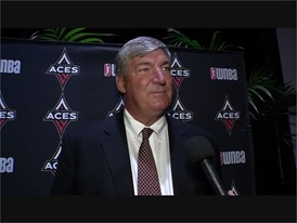 WNBA Press Conference - Bill Laimbeer SOUNDBITE