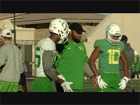 University of Oregon Las Vegas Bowl Practice - RAW VIDEO