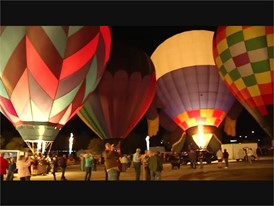 Mesquite Hot Air Balloon Festival Lanterns