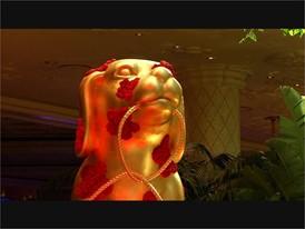 Chinese New Year Decor at Wynn Las Vegas - RAW VIDEO