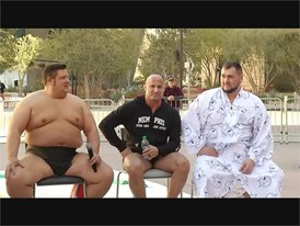 Sumo Wrestling Press Conference - RAW VIDEO