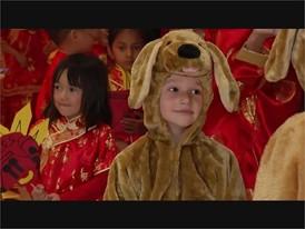 Meadows School Students Dragon Dance Parade