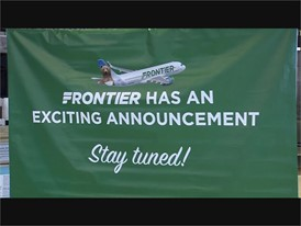 Frontier Airlines Press Conference - RAW
