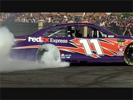 NASCAR Burnout - RAW VIDEO