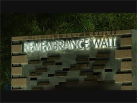 Remembrance Wall Dedication - RAW VIDEO