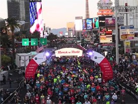 Start Line Aerial View