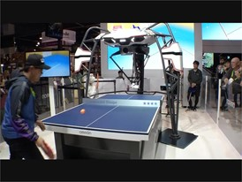Forpheus the table tennis robot