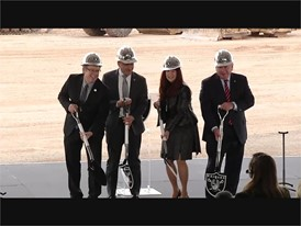 Raiders Practice Facility Groundbreaking