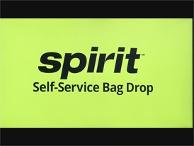 Spirit Airlines New Service - RAW VIDEO