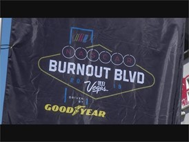 NASCAR Burnout Staging
