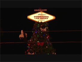 Fremont Street Experience Christmas Tree Lighting