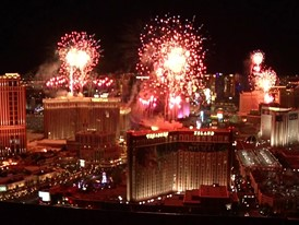 America's Party 2020 Fireworks in Las Vegas