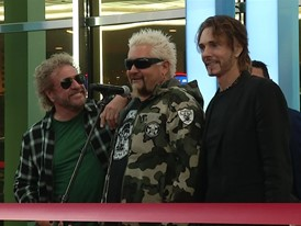 Sammy Hagar and Guy Fieri