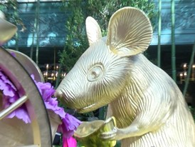 Bellagio Conservatory & Botanical Gardens celebrates the Year of the Rat