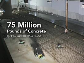 Social Media Video: Las Vegas Convention Center Expansion Concrete Pour