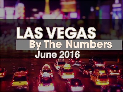 Las Vegas By The Numbers: Las Vegas Breaks Record wth 3.6M Visitors in June 2016