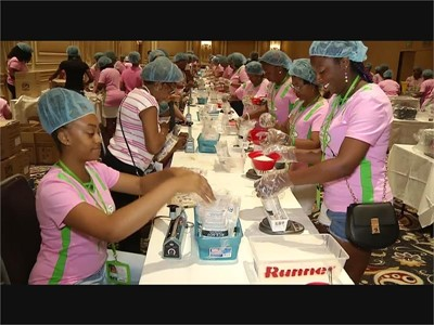 Alpha Kappa Alpha Sorority Gives Back to Las Vegas