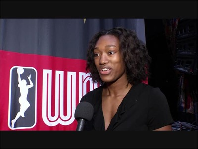 WNBA Press Conference - Kayla Alexander SOUNDBITE
