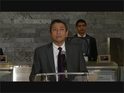 Consul General of Mexico Alejandro Madrigal Becerra soundbite - ENGLISH and SPANISH