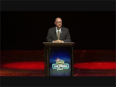 Rossi Ralenkotter Speaks at Las Vegas Bowl Luncheon