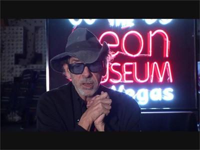 Tim Burton Brings His Unique Vision to the Neon Museum in Las Vegas