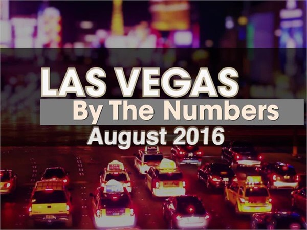 Las Vegas By The Numbers August 2016