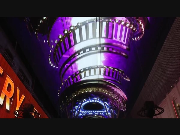 Fremont Street Experience Viva Vision Unveiled