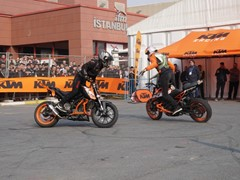 Visitors flocked to Motobike Istanbul which is the most important event of the sector