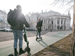 E-scooters: 'Quicker than walking'