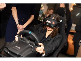 Virtual reality racing at the Launch event of the new Festival of Motoring Sochi on December 5, 2018