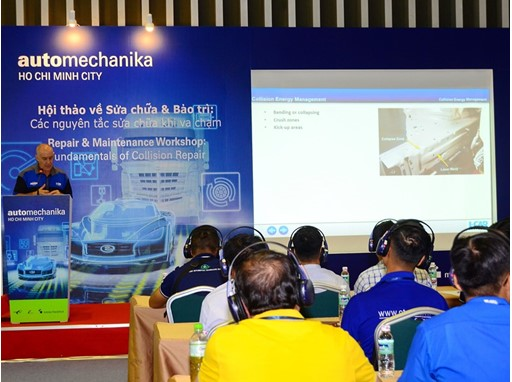 Lectures at Automechanika Ho Chi Minh City