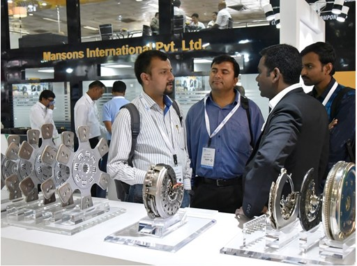 Visitors at ACMA Automechanika New Delhi