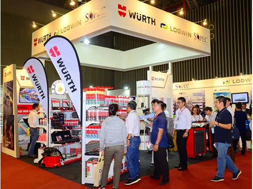 Fair impression of Automechanika Ho Chi Minh City