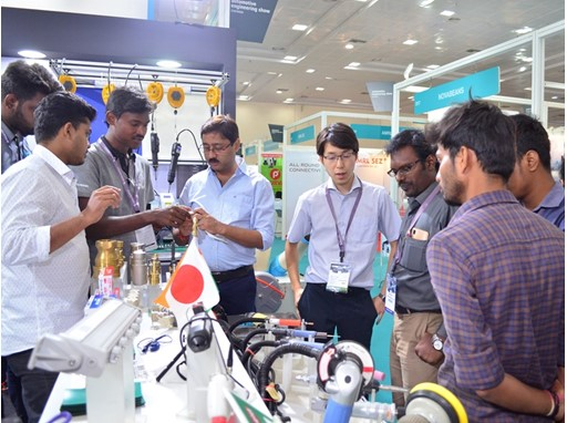 Fair impression of Automotive Engineering Show Chennai