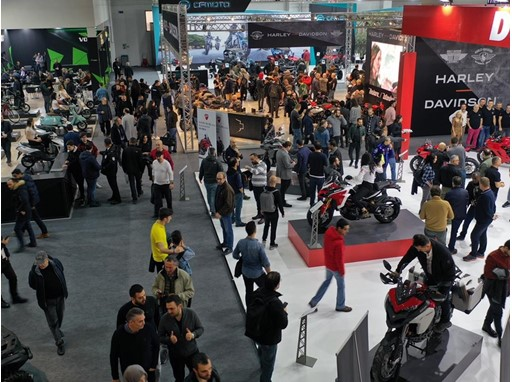 Visitors from 24 countries attended Motobike Istanbul.