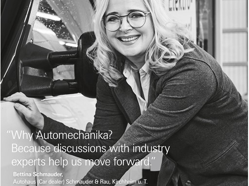 New testimonial campaign for Automechanika Frankfurt