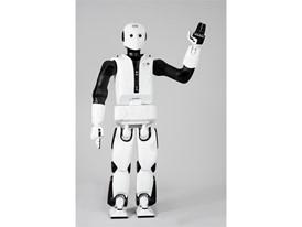 The REEM biped robot from PAL Robotics