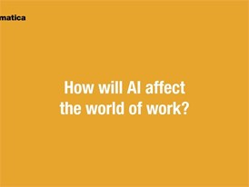 automatica 2018 | How will AI affect the world of work?