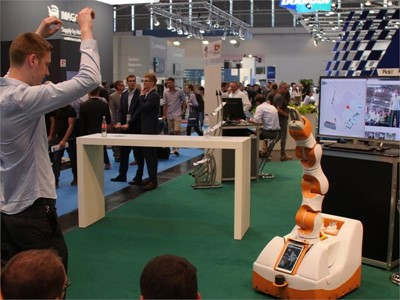 automatica 2018: Meet and greet service robots at automatica Demo Park