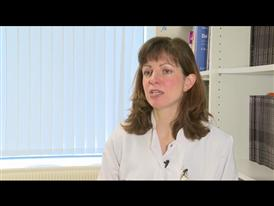 Dr. Barbara Eichhorst talking about the tolerability results from the CLL10 Phase III trial (English)