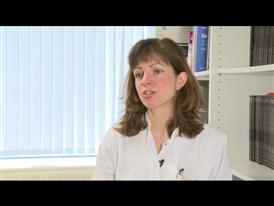Dr. Barbara Eichhorst talking about the study population of the CLL10 Phase III trial (English)
