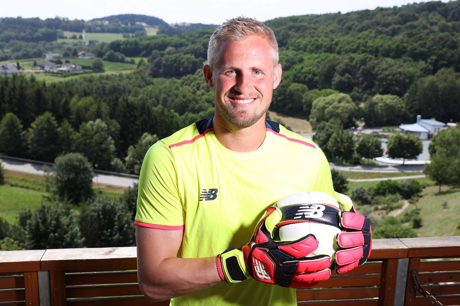 New Balance signs Premier League winning goalkeeper Kasper Schmeichel