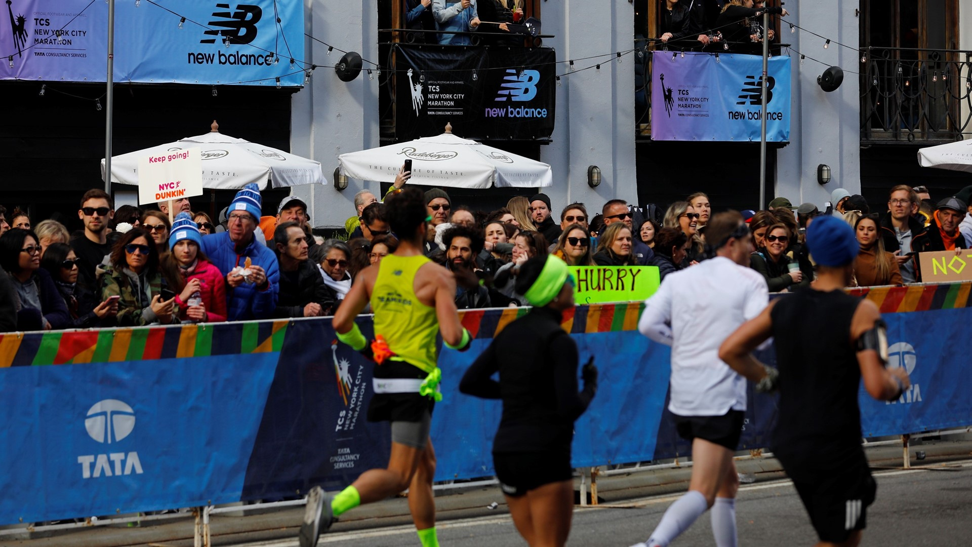 New Balance Mile 19 of the TCS New York City Marathon - 2019