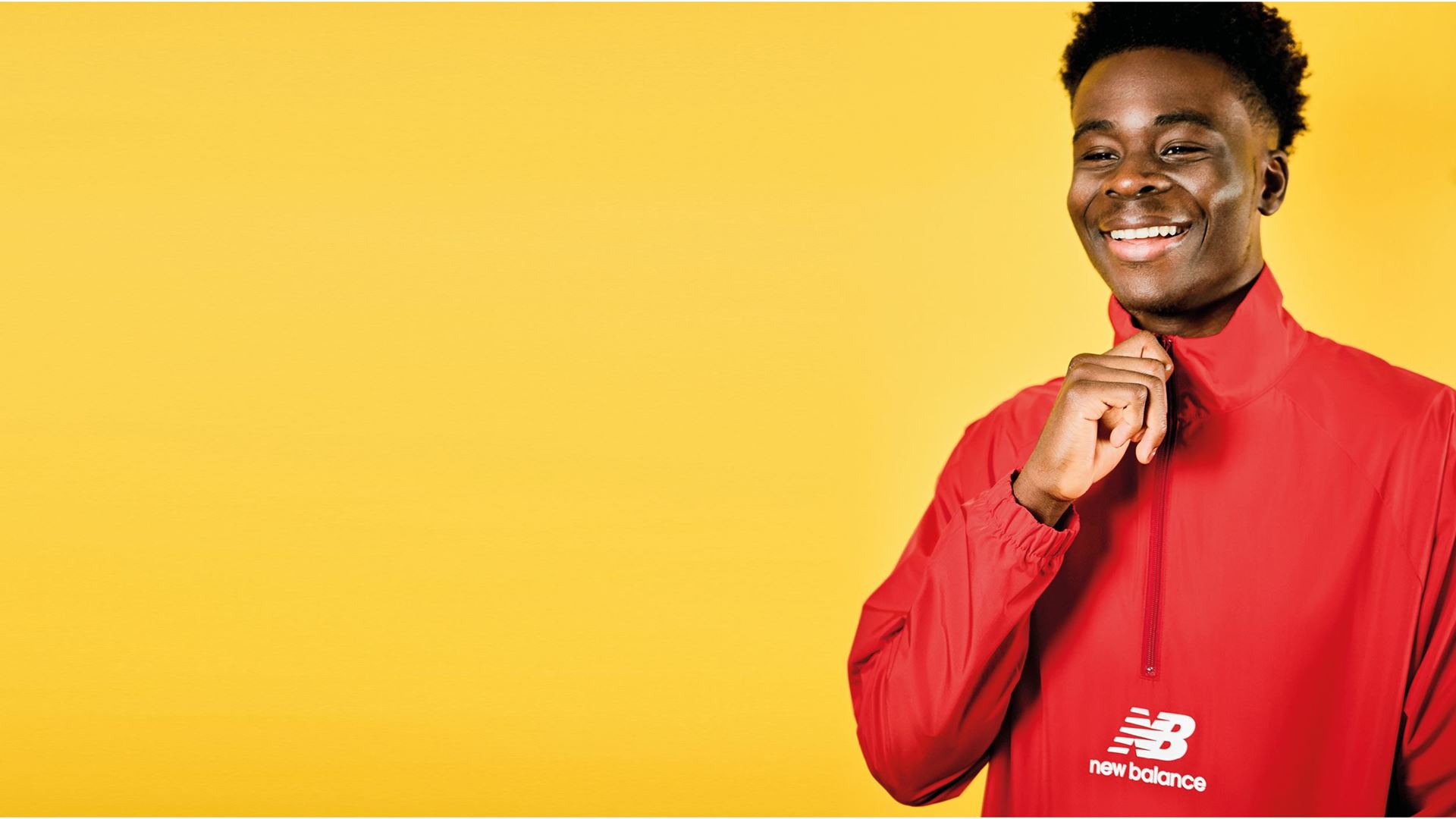 New Balance teams up with Bukayo Saka