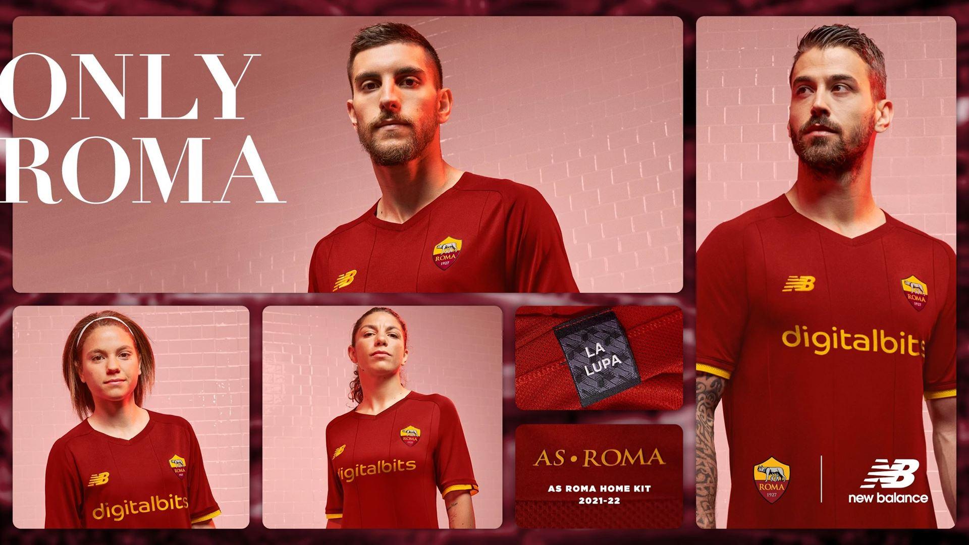 AS Roma 21/22 Home Kit